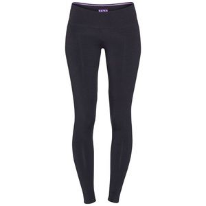 NWOT TNA Black w/ Purple Logo Leggings